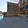 360 Panorama under a tree in front of Venice, Arsenale