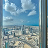 Burj Khalifa Dubai Floor 106 South View
