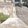 As Conchas dam Orense Spain