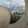 Vista desde azotea en Gran Vía - Madrid