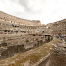 Rome Colosseum spherical panorama