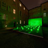 Ricky Ferrero, Bwindi Light Masks - green lights