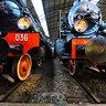 locomotive al Museo della Scienza e della Tecnica