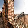 panorama dalle merlate della Torre del Bramante