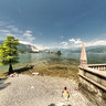 panorama dall'Isola Bella sul Lago Maggiore