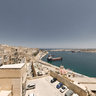 Valletta view from Upper Baracca Gardens
