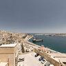 Valletta view from Upper Baracca Gardens