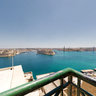 Valletta port view from Upper Baracca Gardens