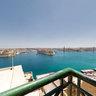 Valletta port view from Upper Baracca Gardens