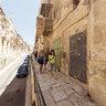 gangway in Valletta
