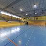 Cancha polivalente del polideportivo municipal Aukea