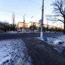 Перекресток пр.Победы и ул.Герцена Горловка