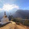 Chorten before Phurte