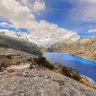 Laguna Cullicocha Enroute to Osouri Pass