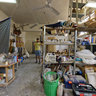 An artist's atelier in Tel-Aviv, Israel