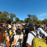 Hippie Hill on April 20th -