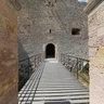 l'entrée du chateau d'If