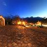 Sapa Ancient Stone Church At Night