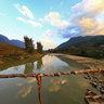 Rattan Bridge On Muong Hoa Stream Sapa