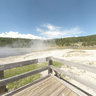 Steady Geyser, Firehole Lake Drive, Yellowstone