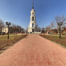 Ivanovo region, Shuya, Green Square, Holy Resurrection Cathedral