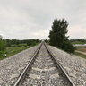 Ivanovo, park Stepanova, railway
