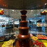 Burj Al Arab Hotel, Dubai; Junsui Restaurant, Chocolate Fountain