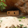 Doll House Ruin Front, Dark Canyon Wilderness Area, Utah, USA