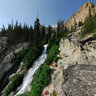 Goat Falls, Sawtooth National Wilderness, Idaho, USA