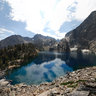 Goat Lake (north), Sawtooth National Wilderness, Idaho, USA