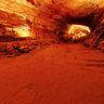 In side Water Cave of Phong Nha cave, Quang Binh (Động nước Phong Nha)