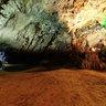 The exit of the water cave in Phong Nha cave, Quang Binh (Động nước Phong Nha)