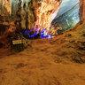 The end of water cave in Phong Nha cave, Quang Binh (Động nước Phong Nha)