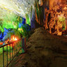 The dead end of Tien Son cave in Phong Nha cave (ng Tin Sn, Phong Nha)