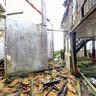 An abandon house on Mau Son