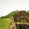 A ruin on Mau Son