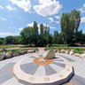 Botanical garden Sundial