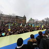 Reunion Day Ukraine. 22.01.2011. Lviv