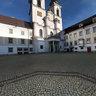 Courtyard of Kremsmünster Abbey