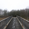 Pedestrian bridge in Düvelshöpen Tostedt