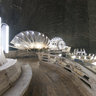 Turda salt mine - the lake level
