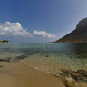 Famous Stavros Beach, Crete - where the movie Alexis Zorbas was filmed
