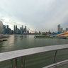 View from the Helix Bridge, Singapore