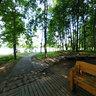 Остров птиц, Комсомольское озеро, Минск