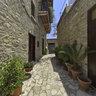 Lefkara courtyard Cyprus