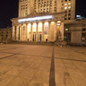 Palace of Culture and Science in night
