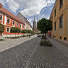 Katedralna St in Ostrow Tumski, Wroclaw