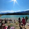 Dragononesa Spiaggia Lago Santa Giustina Val Di Non