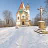 Letzenberg-Kapelle im Winter