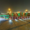 南宁民歌湖夜景